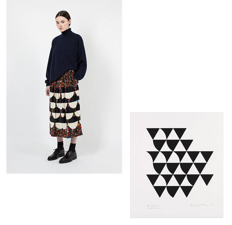 e464b3d44b Dries Van Noten, Navy Hardison T-Shirt · Dries Van Noten, Shine Embellished  Skirt